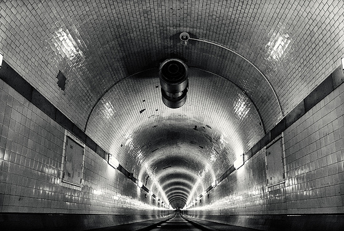 Tunnelview (Elbtunnel)