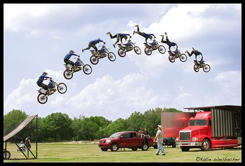 bmx stunt