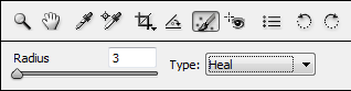 Adobe Bridge Spot Removal