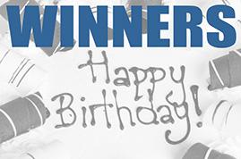 Birthday Winners