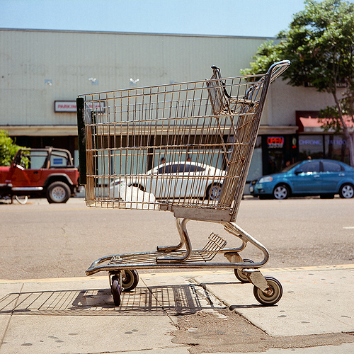 Car in a Cart, by Brian Auer