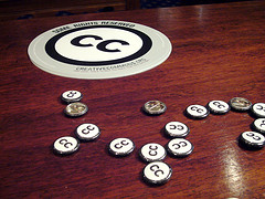 Creative Commons schwag on Flickr