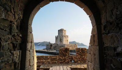 selective focus photography of concrete castle