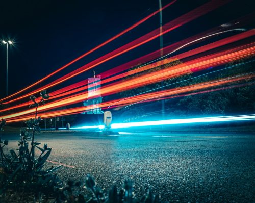 time lapse street photography