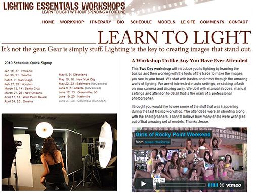 Lighting Courses 2