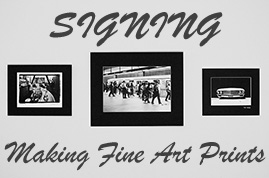 Making Fine Art Prints: Signing