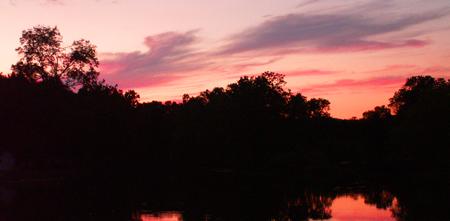 Pink & Purple Sunset