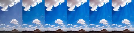 Painted Desert Sun Rays Process
