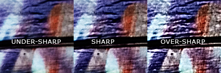 Sharpening Examples
