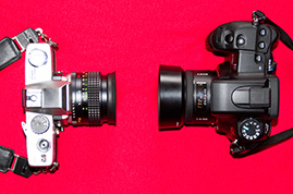 The SLR Camera - Then and Now